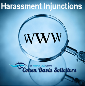 Harassment injunctions legal advice