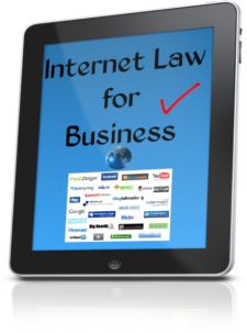 Internet law for business legal advice