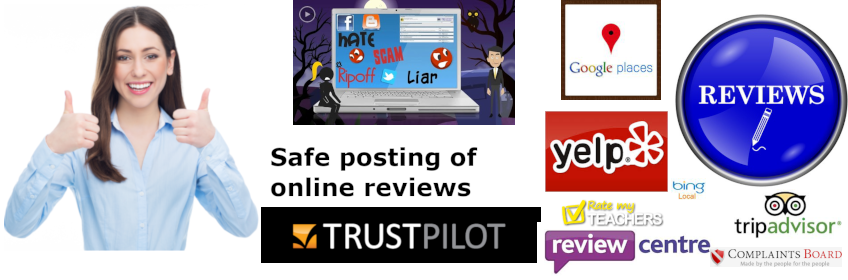 How to post a review which is not illegal