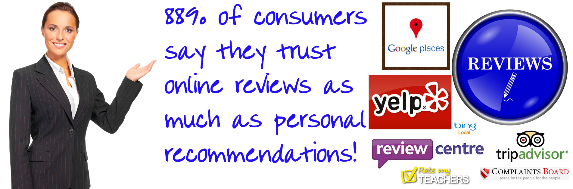 You should care about online reviews